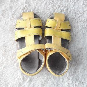 See Kai Run Gloria Toddler Girls Leather Sandals